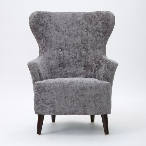 Brettany Wing Back Chair Ebern Designs Upholstery Colour Cambio