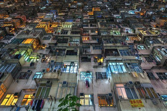Imágenes claustrofóbicas de Hong Kong   Duendemad.com