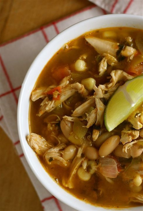 Smoky White Bean and Chicken Chili