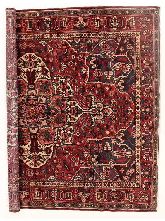 Tapis persans - Bakhtiar  Dimensions:375x306cm
