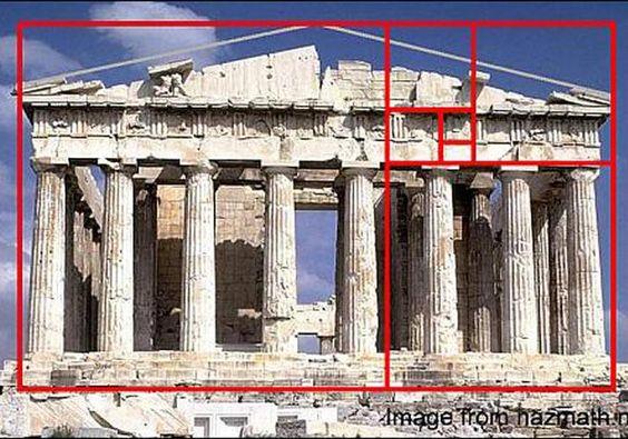 La sección áurea, el número dorado de la arquitectura - arquitectura - obrasweb.com