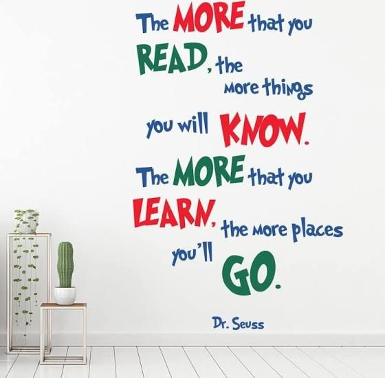 Dr Seuss Wall Art Hobby Lobby Best Teacher Quotes Childrens Quotes Dr Seuss Quotes