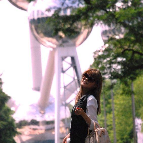 Toerist in eigen land  #bubbletrouble #belgium #brussels #atomium