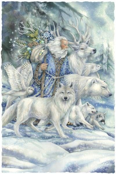 jody bergsma art #wolves; owl; deer; raccoon; man;
