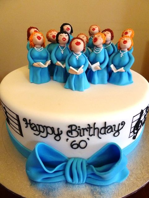 Some Very Boobylicious Looking Choir Ladies Singing Happy Birthday