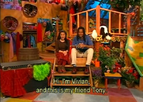OH YES. Vivian and Tony from OUT OF THE BOX!