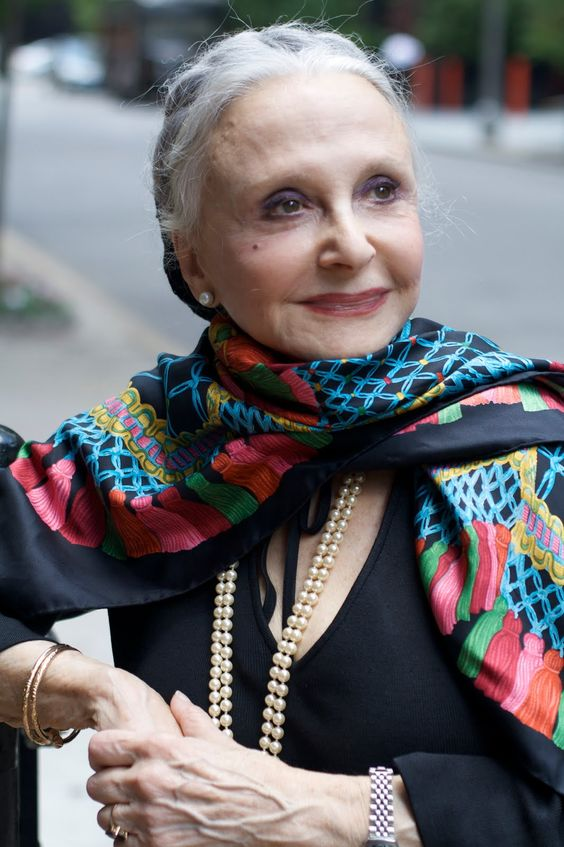 """At 79 years old Joyce told me, """" I don't want to look younger, I want to look as great as I can at any age."""""""