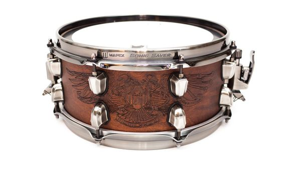 "Mapex 12"" x 5,5"" Warbird Chris Adler Signature Snare Test Mapex, Chris Adler, Snare, review, Test, warbird, 2015"