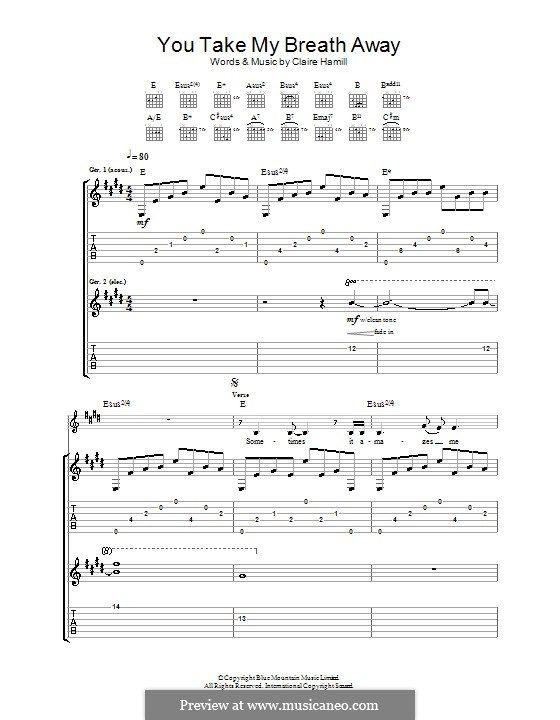 You Take My Breath Away Eva Cassidy By C Hammill On Musicaneo Take My Breath Take My You Take