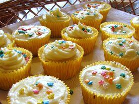 da minha cozinha: Cupcakes de Limão