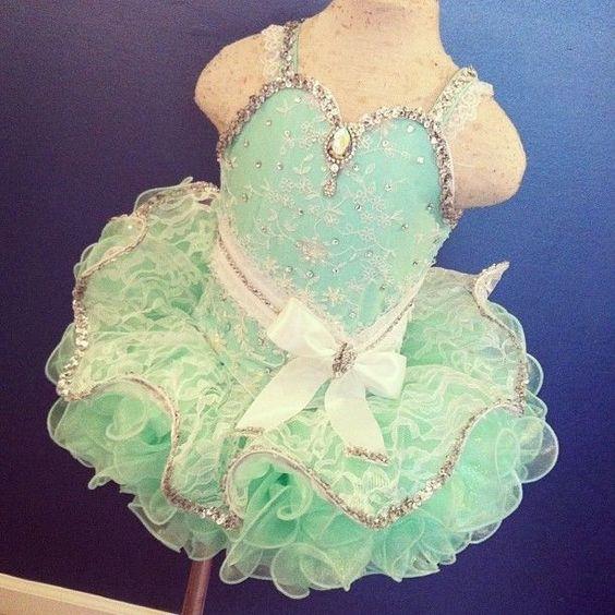Heidi Marshall // Mint Green // Semi-Glitz Cupcake // Size 18m-3t #heidimarshall