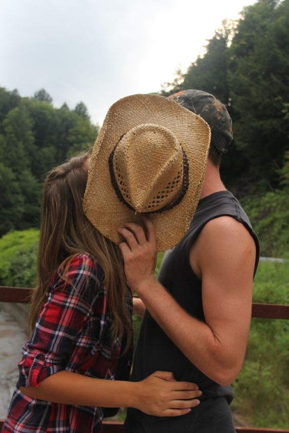 cute couple partners two girl boy love romance kiss kissing laughing smile smiling secret hat