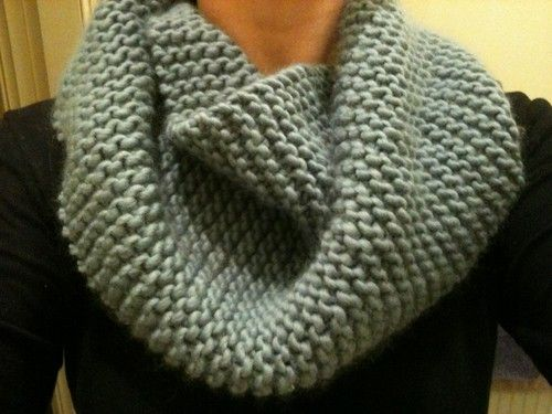 wham bam thank you lamb - awesome cowl pattern Straight Needle Knitting P...