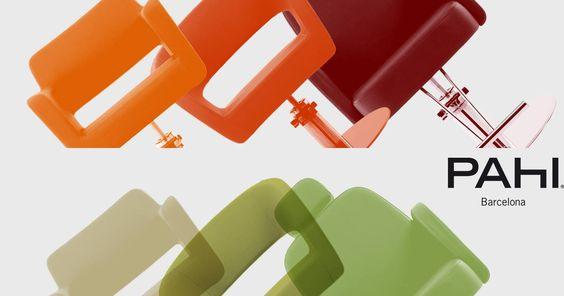 Todo un mundo de colores y modelos en mobiliario de #peluquería. Descubre todo lo que tenemos para ti: http://pahi.com/es/products