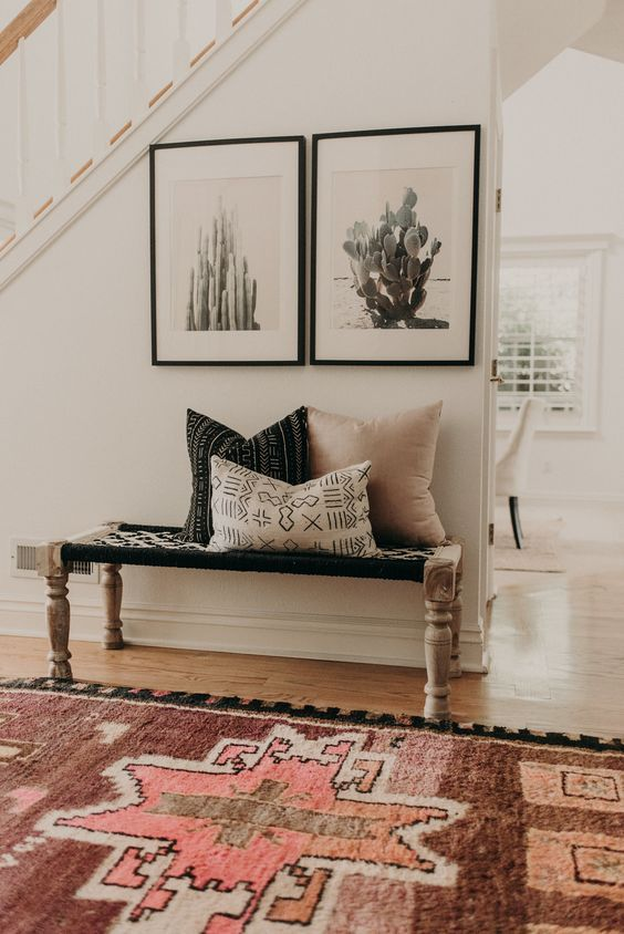 Tour A Space That Blends Bohemian Details With A Modern Farmhouse