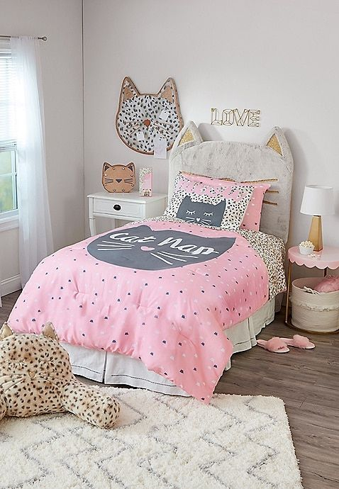 Cat Bed In A Bag Twin Size Justice With Images Girl