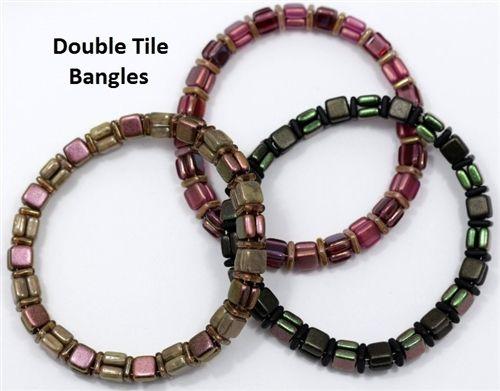 Double Tile Bangles