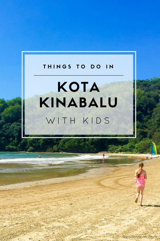 Kota Kinabalu in Malaysian Borneo is a fantastic place to visit with kids between the extraordinary wildlife, beaches and other nature experiences. [ad]