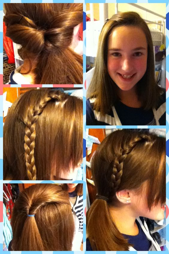 Excellent Cute Hairstyles Different Styles And First Day Of School On Pinterest Hairstyles For Women Draintrainus