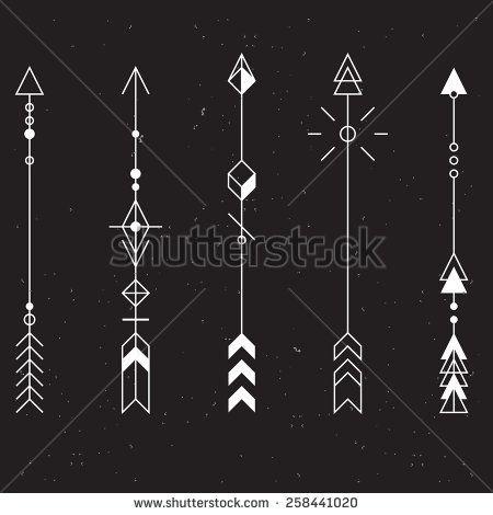 Inspiration - Flèches graphiques                              …