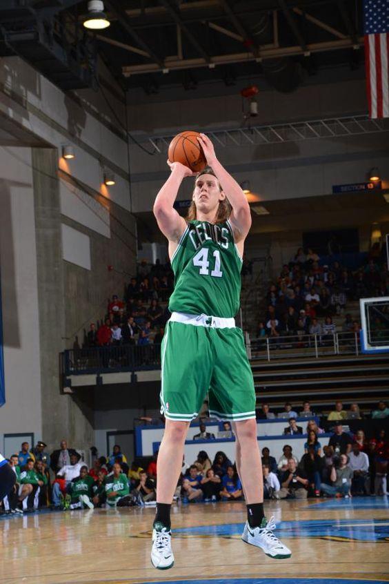 Kelly Olynyk (41) of the Boston Celtics