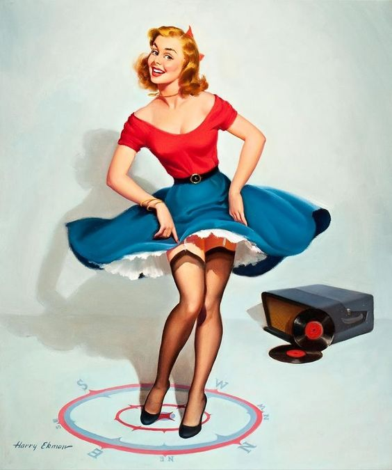 record pinup: