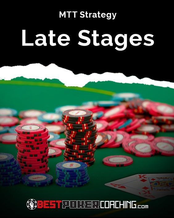 60 Minute Master Mtt Part 8 Late Stages Poker