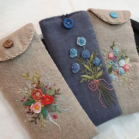 #프랑스자수 #프랑스자수mimi #일산프랑스자수 #일산프랑스자수공방 #안경집#Embroidery #stitch#needlework#하나.둘 완성되는 안경집~ 🌿