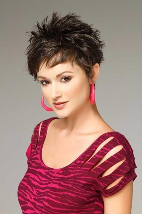 Photo Gallery Of Sassy Short Haircuts For Thick Hair Viewing 20 Haircut For Thick Hair Short Hair Styles Thick Hair Styles