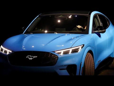 Ford Unveils Electric Mustang Suv To Challenge Tesla Mustang Tesla Suv