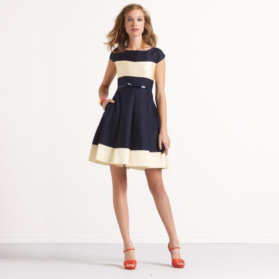 kate spade striped adette dress.