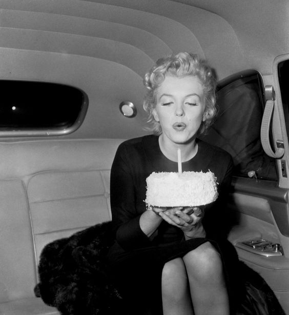 #Marilyn on her 30th Birthday - My coworker gave me this on my 30th, I absolutely love it. Gave me a shot of glamour on my big day.