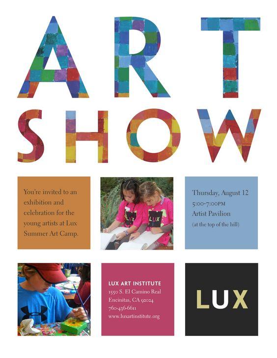 Modern Art Show Flyer Google Search Furniture Sharehouse Pinterest Kid Blog And Art Shows
