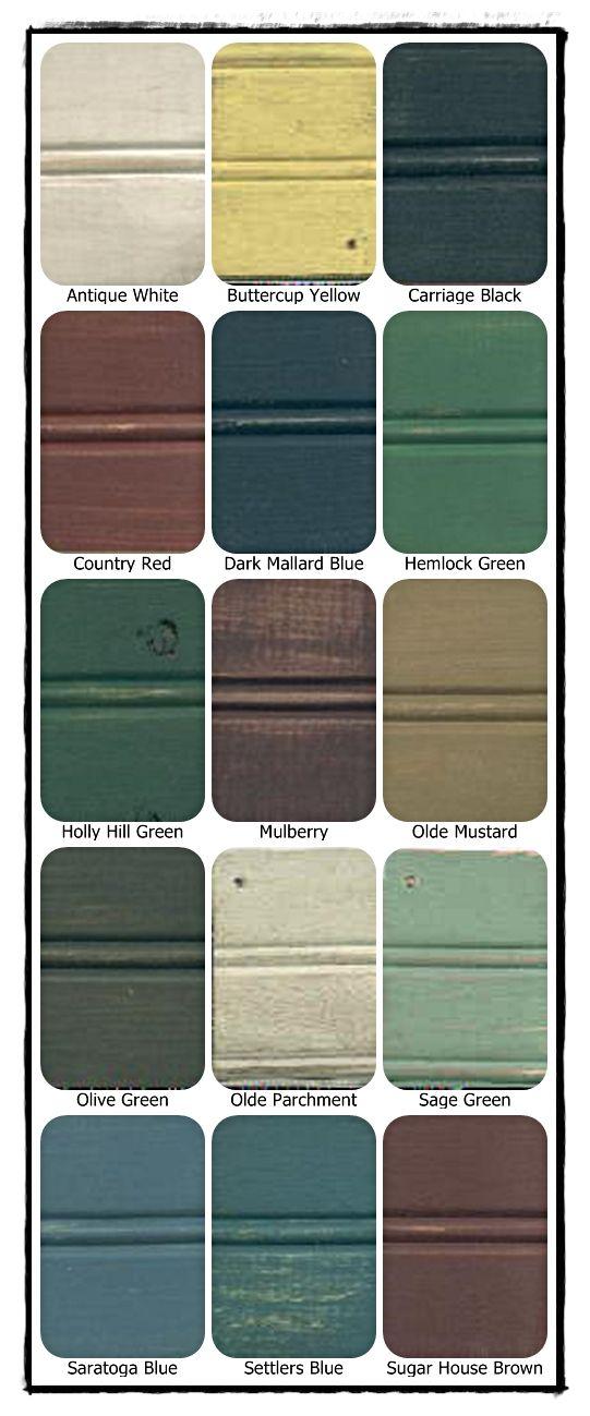 Primitive paint colors country decor pinterest - Rustic kitchen paint colors ...