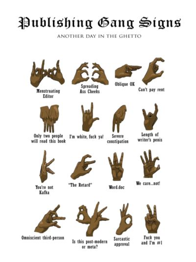 how to draw gang signs