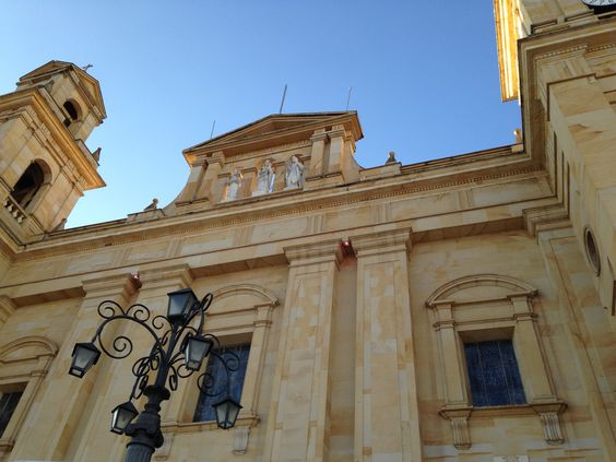 La Basílica de Nuestra Señora del Rosario de Chiquinquirá