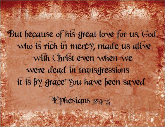 Ephesians 2 4 5
