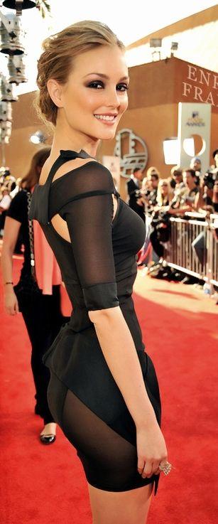#street #fashion Leighton Meester ♥ Red Carpet @wachabuy: