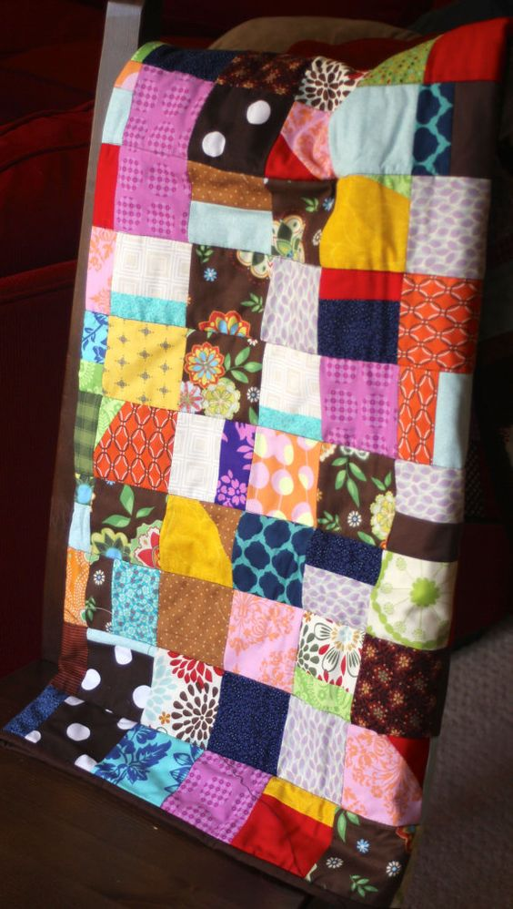 Chocolate Sundae Quilt from Bloomstead on Etsy
