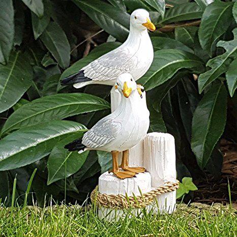 Mowen Auf Pfahl Ostsee Nordsee Feriendeko Deko Figur Maritim Dekoration Garten Ideen Gestaltung Garten Deko Garten Dekor Deko Natur Garten Ideen Naturgarten