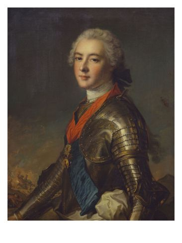 Louis Jean Marie de Bourbon,Duke of Penthièvre:1725-1793 He was the grandson of Louis XIV and his mistress Madame de Montespan. He was rumoured to be the richest man in France and was well known for his philanthropy. He was a beloved figure because of his generosity and was never targeted during the Revolution. His daughter in law was the unfortunate princess de Lamballe.: