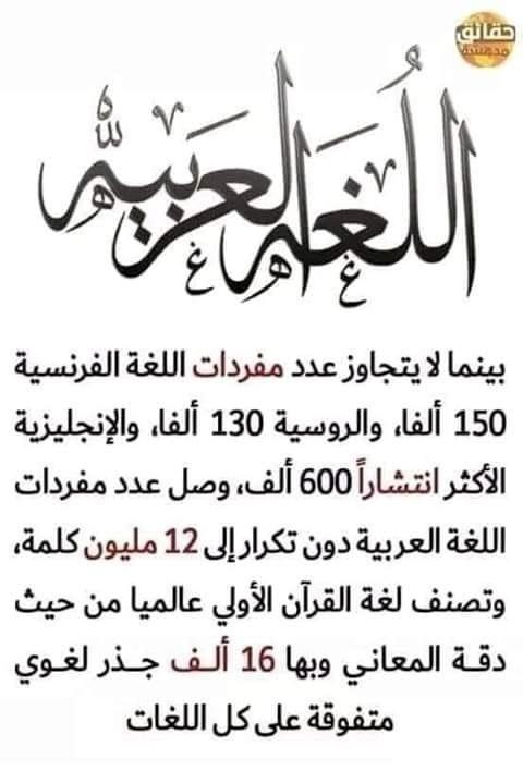اللغة العربية Arabic Language Learning Arabic Learning