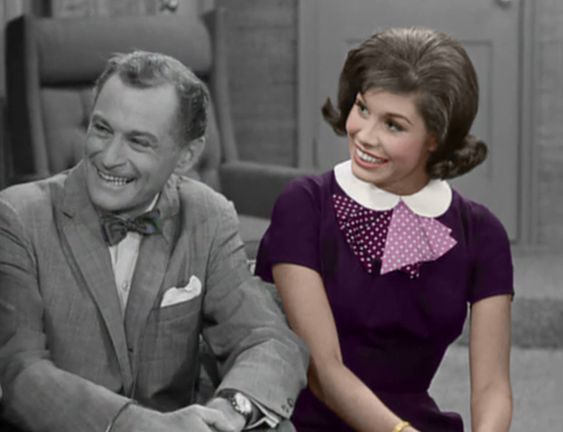 The Dick Van Dyke Show's Laura Petrie in Color- what Laura's outfits might look like if they were in color!: