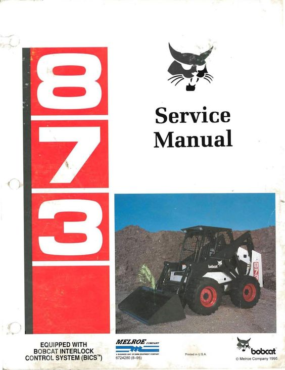 Bobcat 873 skid steer loader factory service and repair manual pdf this high quality and a genuine manual is 100 complete and intact no solutioingenieria Choice Image