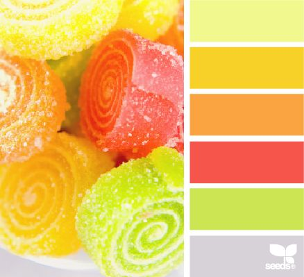 Candied Brights - http://design-seeds.com/index.php/home/entry/candied-brights