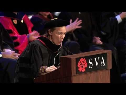 Laurie Anderson's Pillow Speaker Song At SVA Commencement Address