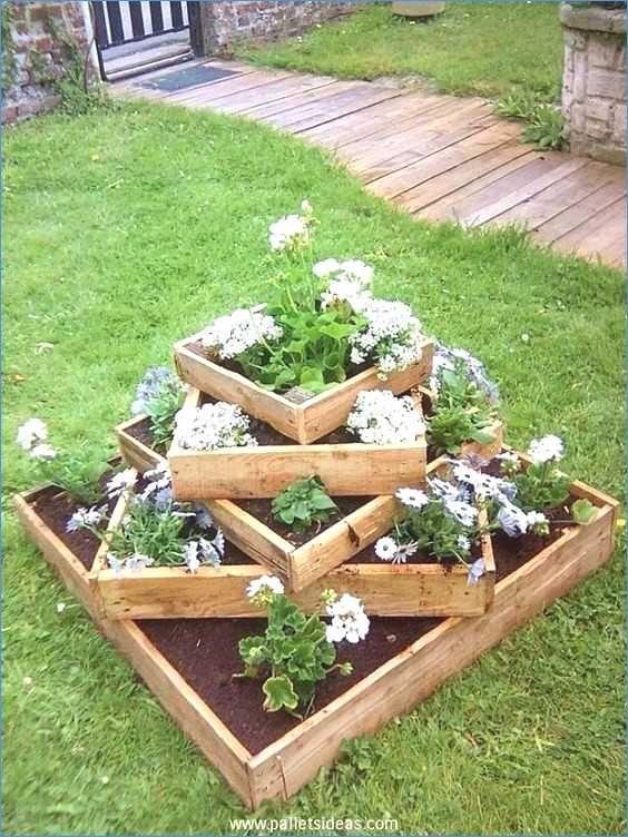 Beet Terrassen Garten Am Hang Anlegen Neu Treppe Garten Hang Awesome Ideen Von Natursteintreppe Ga Pallet Projects Garden Diy Garden Bed Wooden Garden Planters