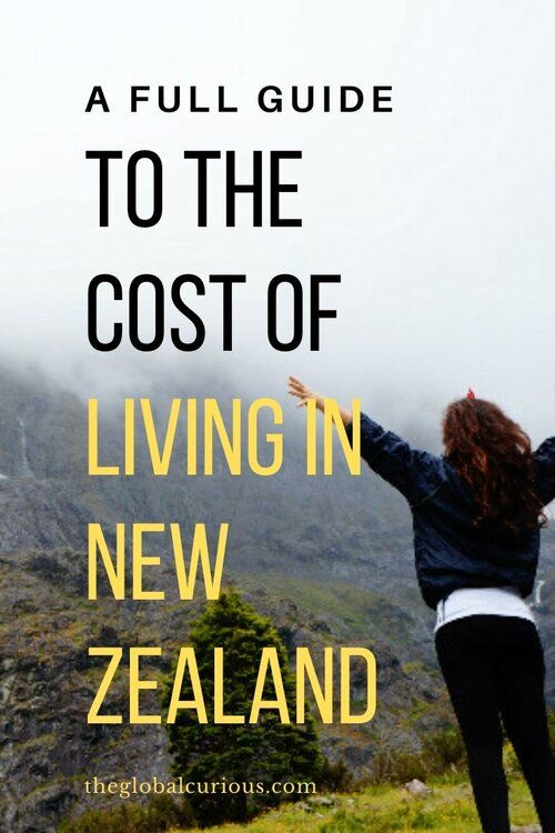 Learn All The Main Costs Of Life In New Zealand Cost Of Buying A
