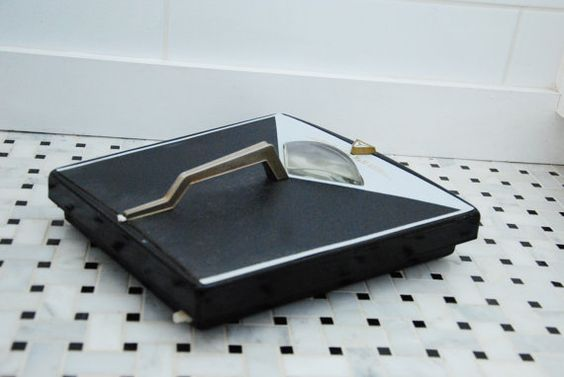 Vintage Haddon Hall Bathroom Scale by LOFT65 on Etsy