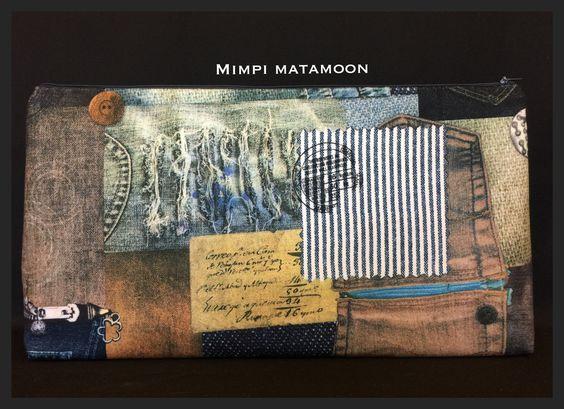 Told ya! Denim pockets in the Naz #mimpimatamoon #clutch #madeinmalaysia Custom Reserve